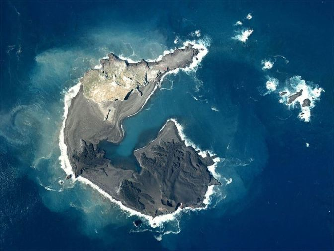 Japan's Nishino-shima volcano creates new island: first eruption in 40 years